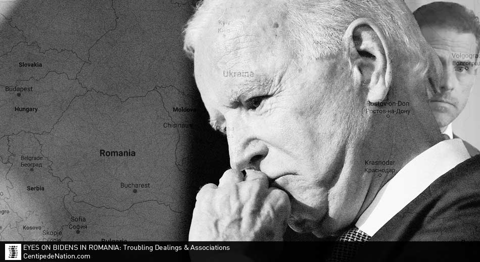 Eyes on Bidens in Romania with troubling dealings & associations