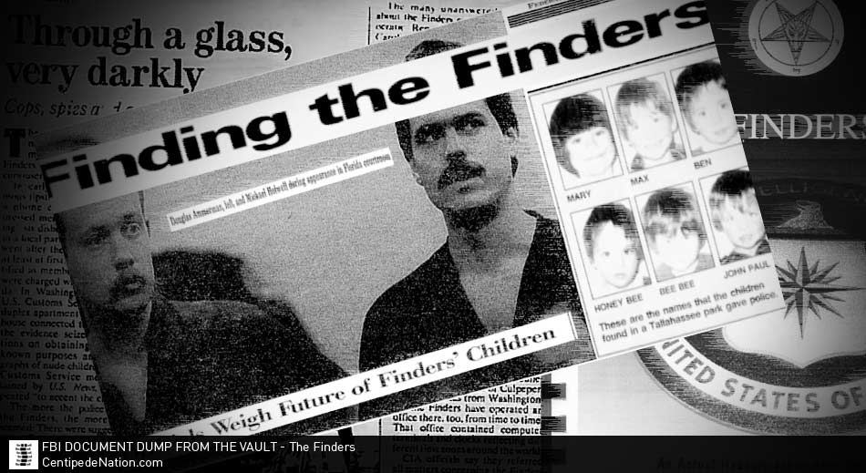 FBI Document Dump From The Vault – The Finders