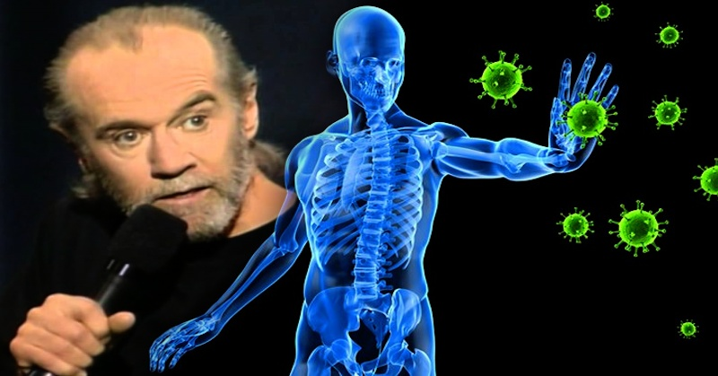 WATCH: George Carlin – Germs, Immune System…