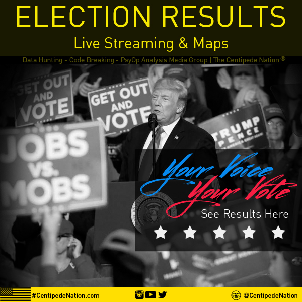 MAGA PARTY – 2018 US Midterm Election Results With Live Streams and Maps