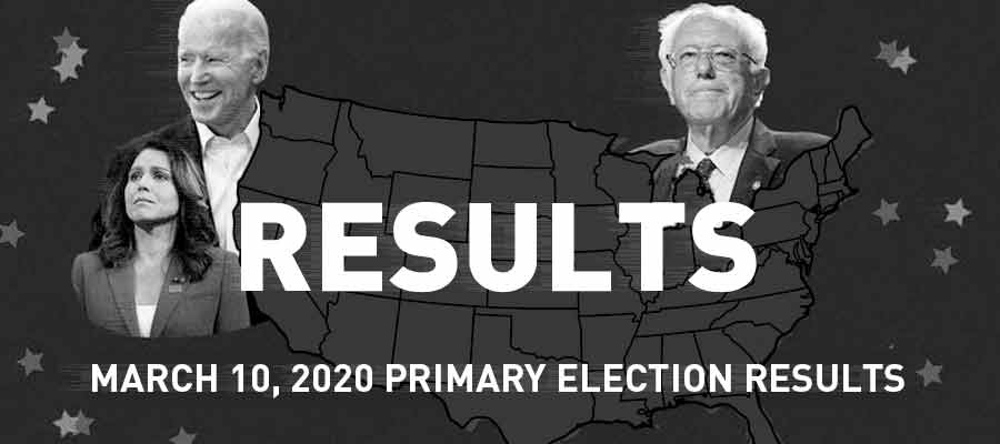 March 10 Primary Election Results 2020