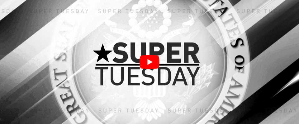Super Tuesday Primary Elections Results 2020
